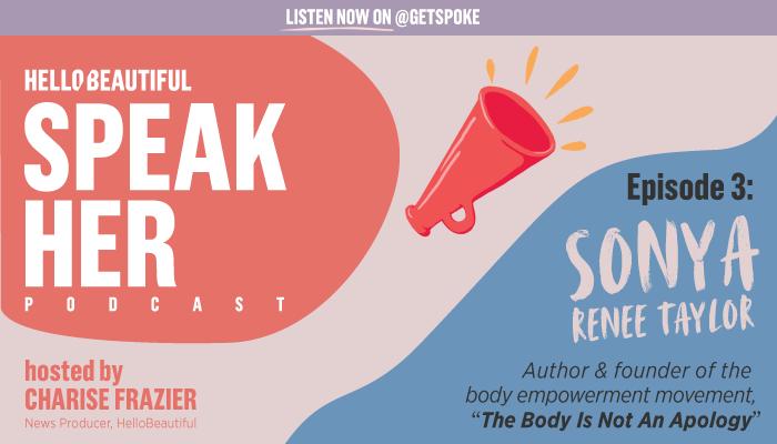 SpeakHER graphic: episode 3