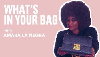 Amara La Negra: Whats In Your Bag