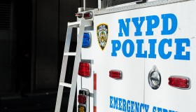 rear of NYPD truck