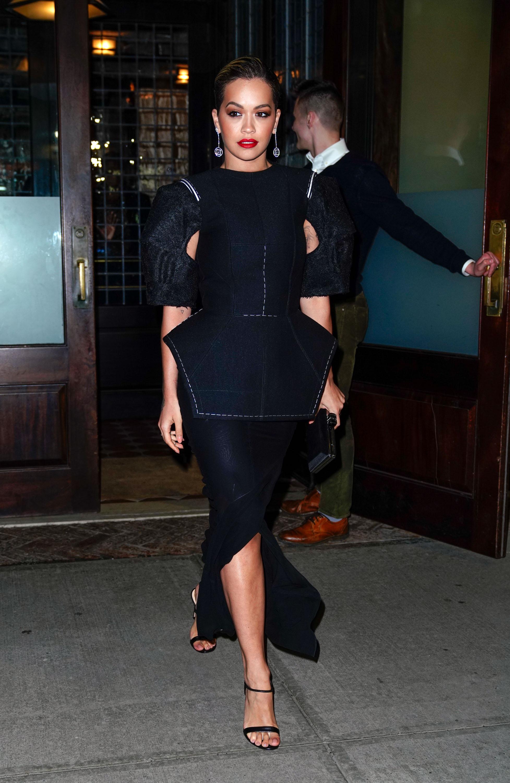 Celebrity Sightings in New York City - April 4, 2018