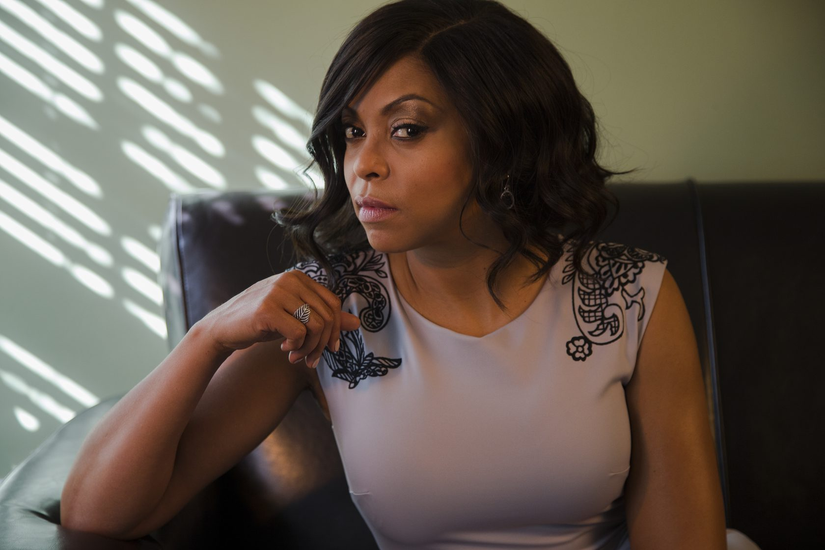 LOS ANGELES, CA - MARCH 6, 2015: Tariji P. Henson has become the hottest actress in primetime thanks