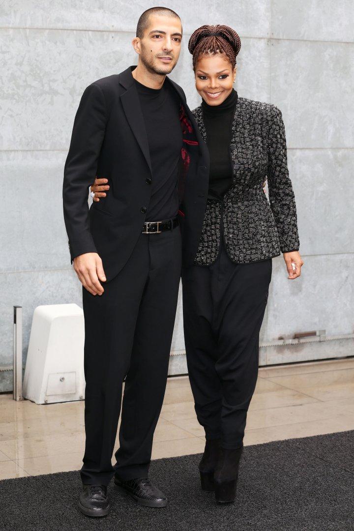 Janet Jackson With Hubby, Wissam Al Mana