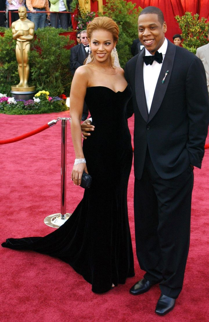 Beyonce With Hubby, Jay Z