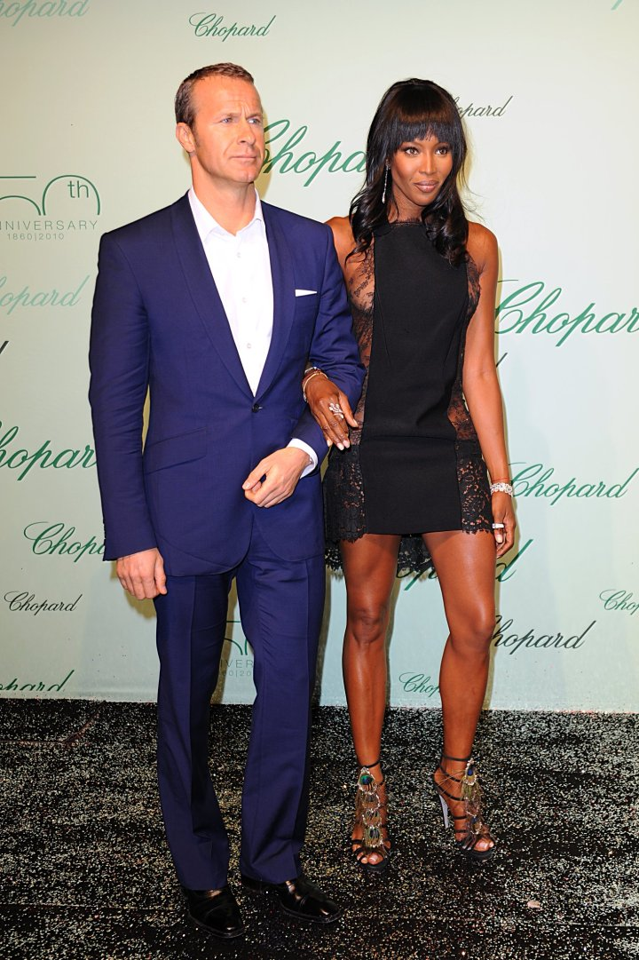 Naomi Campbell With Controverisial Ex, Vladimir Doronin