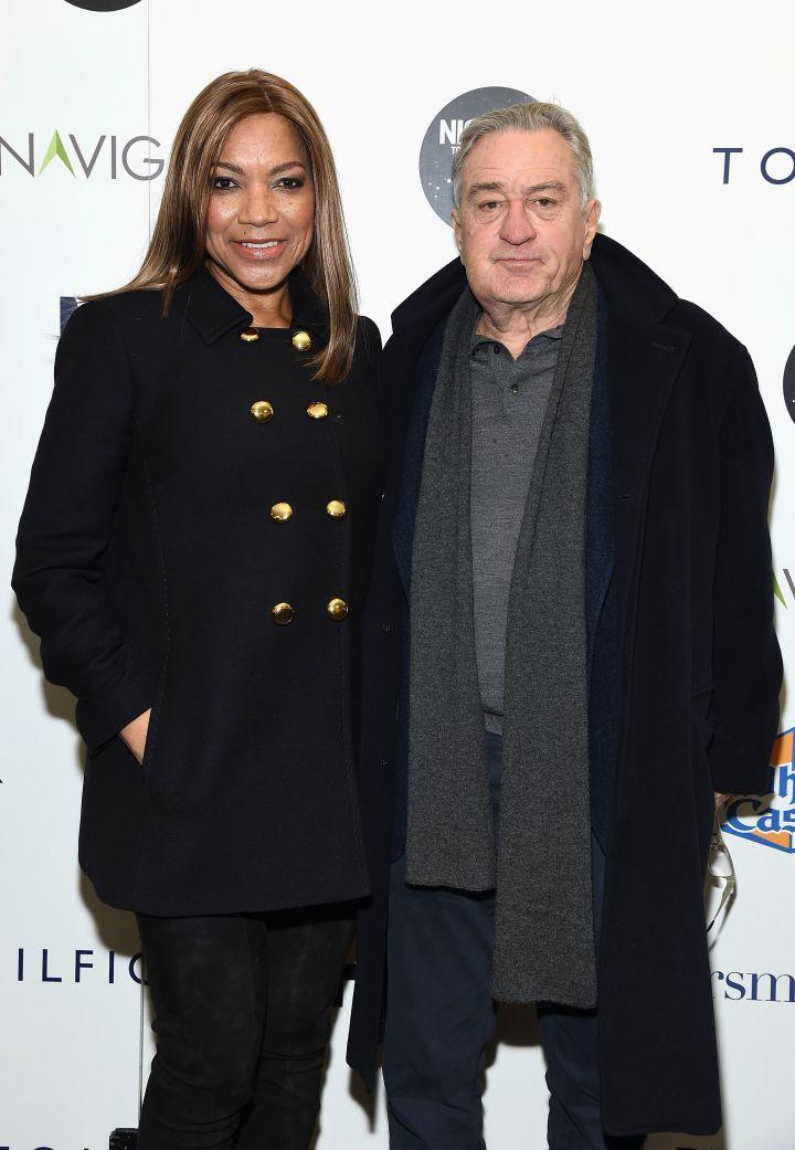 Grace Hightower With Hubby, Robert De Niro