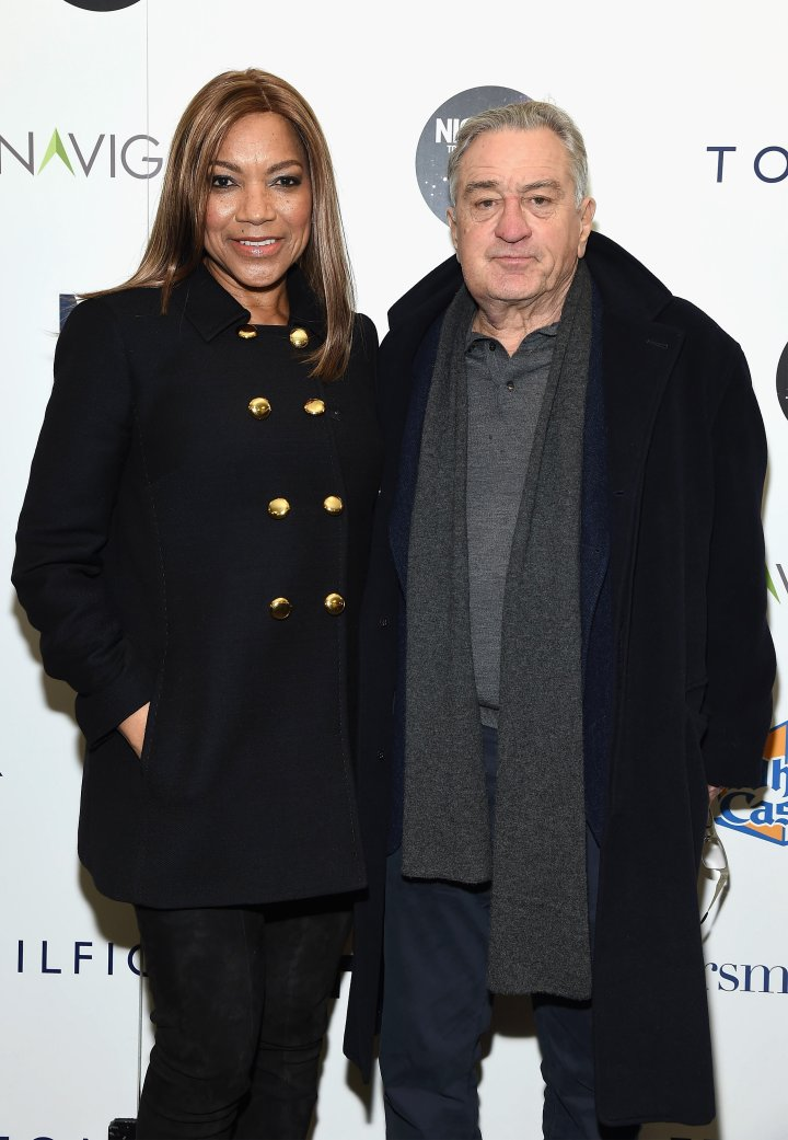 Grace Hightower With Hubby, Robert De Niro