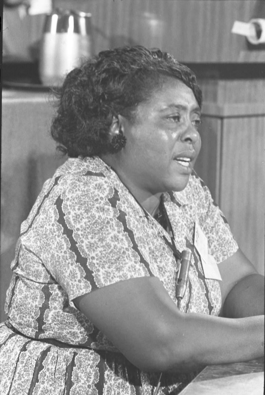 Fannie Lou Hamer (1917 – 1977)