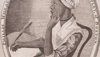 Portrait Of Phillis Wheatley