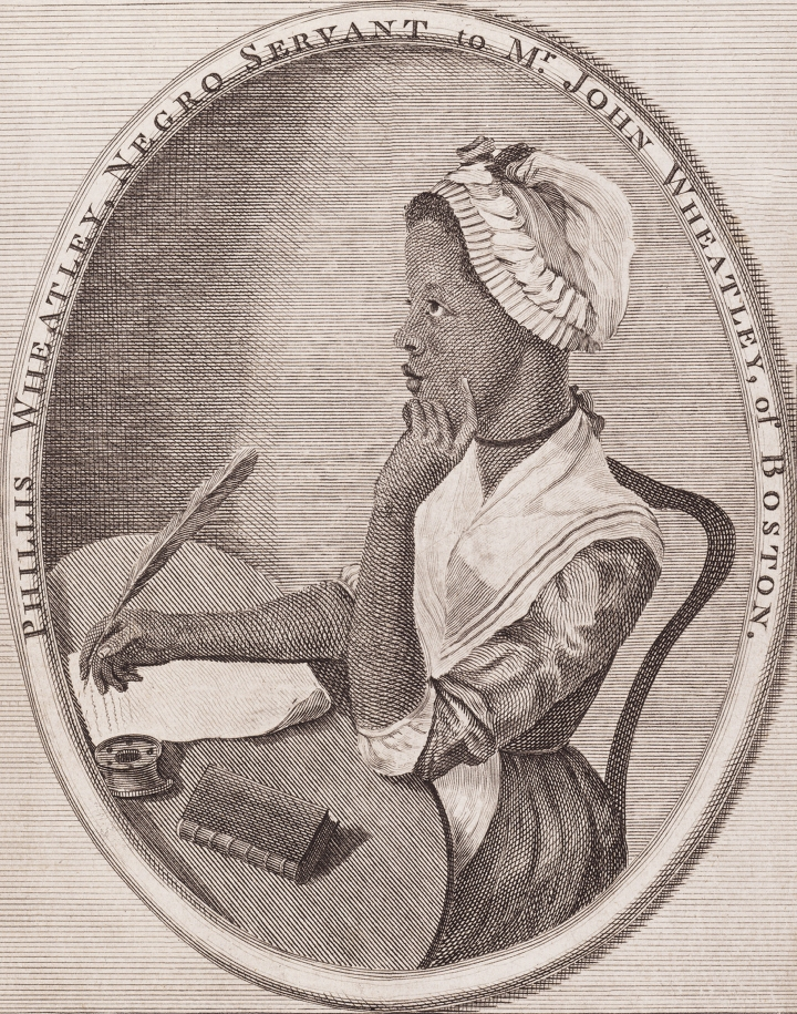 Phillis Wheatley (1753 – 1784)