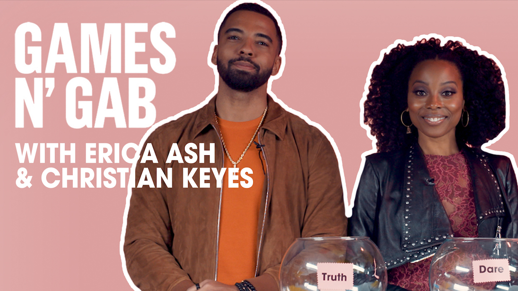 Erica Ash and Christian Keys games and gab