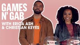 Erica Ash and Christian Keys games and gab
