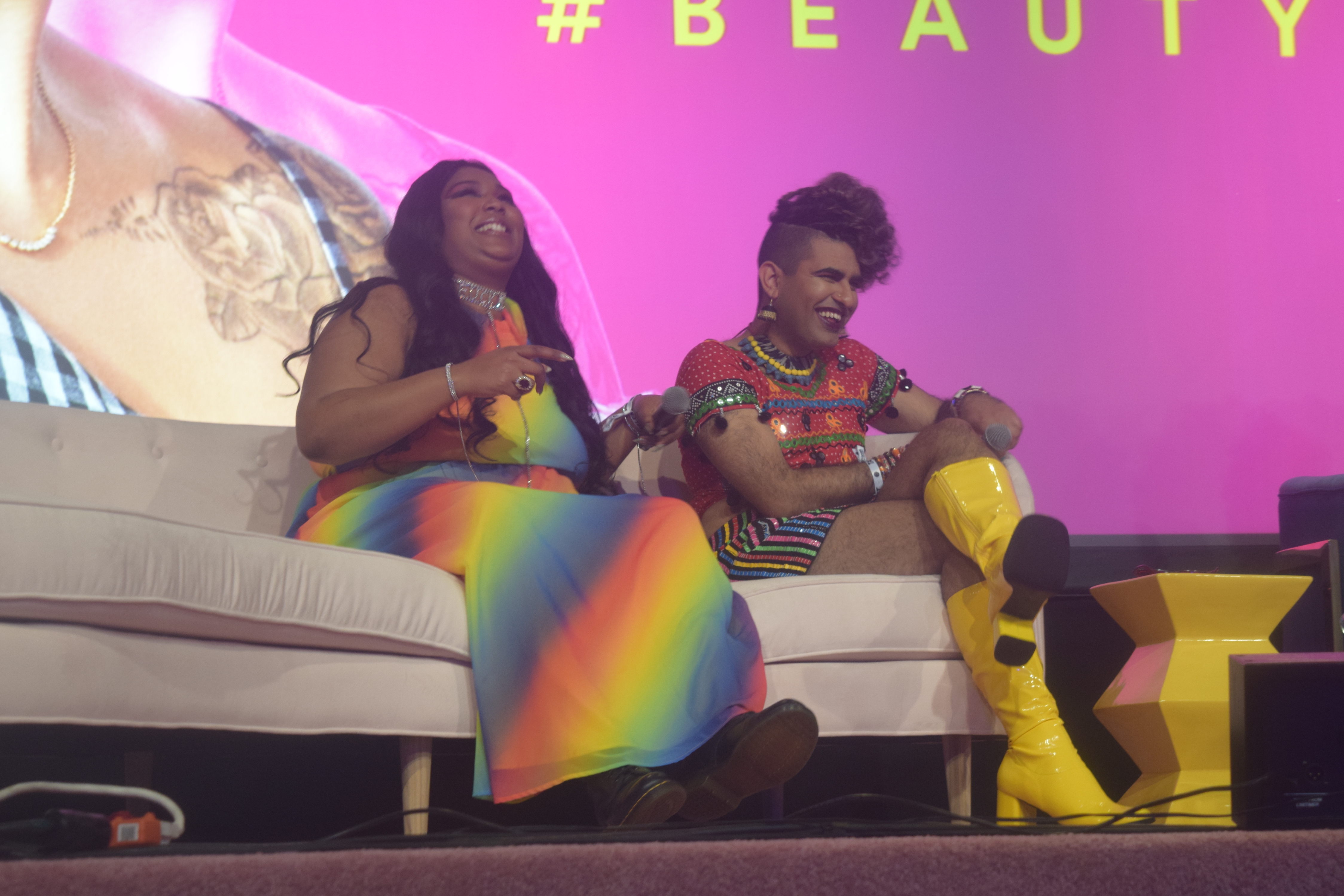 Lizzo On The Niche Is The Norm Panel At Beautycon NYC 2018