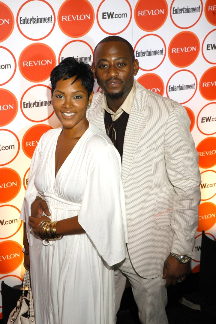 Keisha and Omar Epps