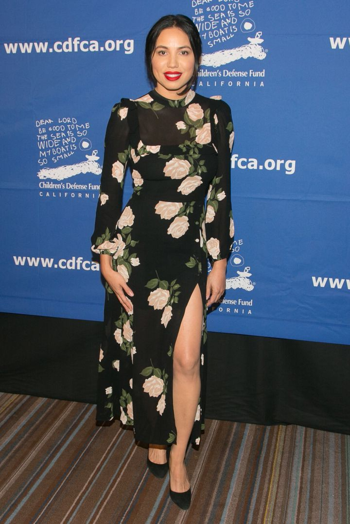 Jurnee Smollett-Bell arrives for the Children's Defense Fund-California's 27th Annual Beat The Odds Awards
