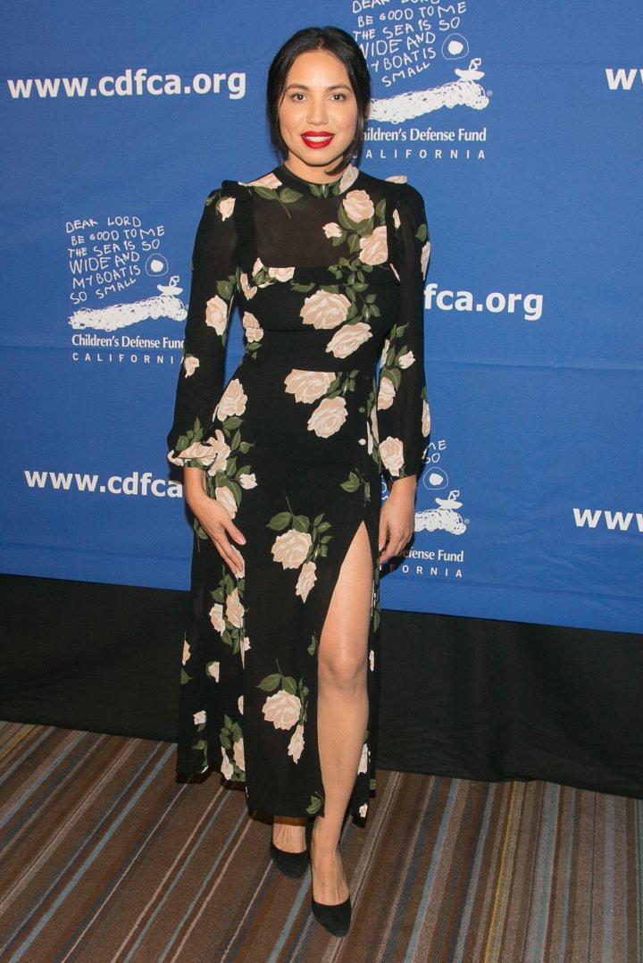 Jurnee Smollett-Bell arrives for the Children's Defense Fund-California's 27th Annual Beat The Odds Awards