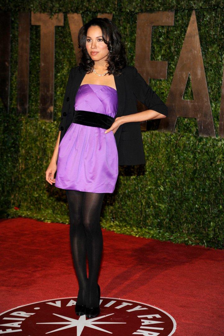 Jurnee Smollett attends VANITY FAIR Oscar Party