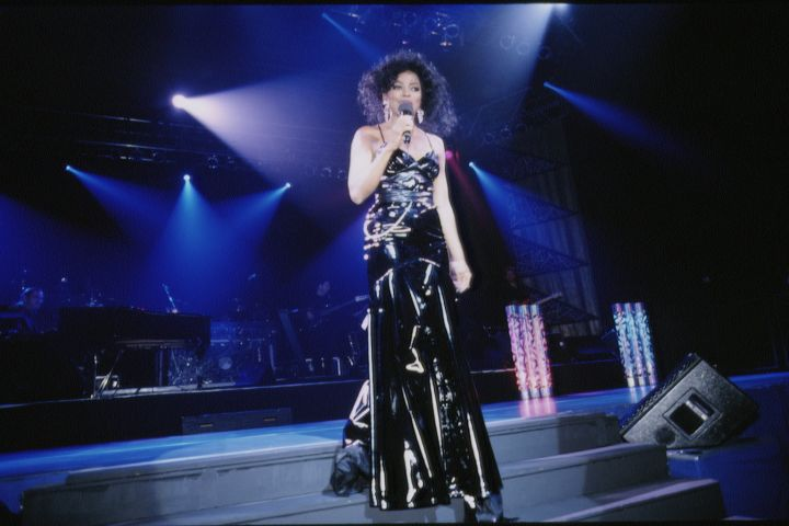 DIANA ROSS IN CONCERT IN PARIS