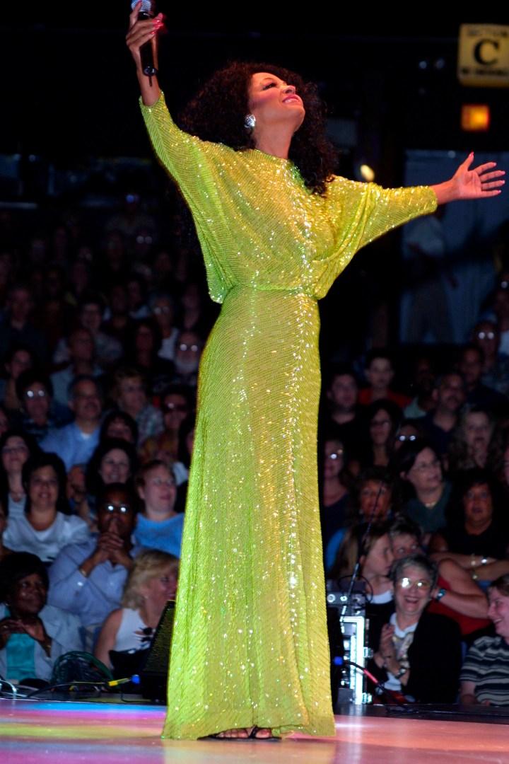 Diana Ross Performs at Westbury Music Fair