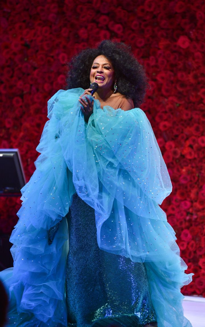 Diana Ross performs at the 2015 Toronto International Film Festival