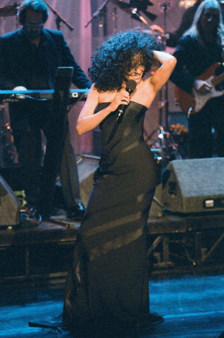 Diana Ross Performs at The Tonight Show with Jay Leno - Season 4