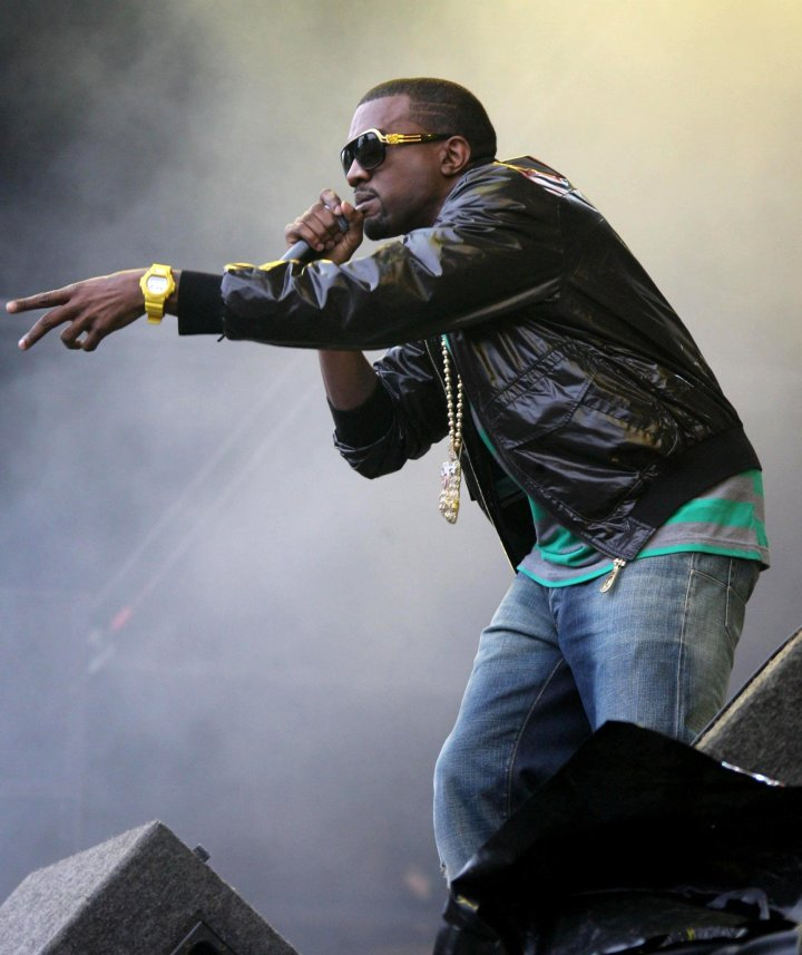 Kanye West had nude photos hit the web around the time he dropped his new CD.