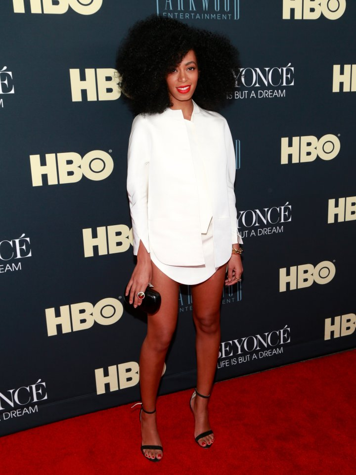 "Solange at the ""Beyonce: Life Is But A Dream"" New York Premiere"