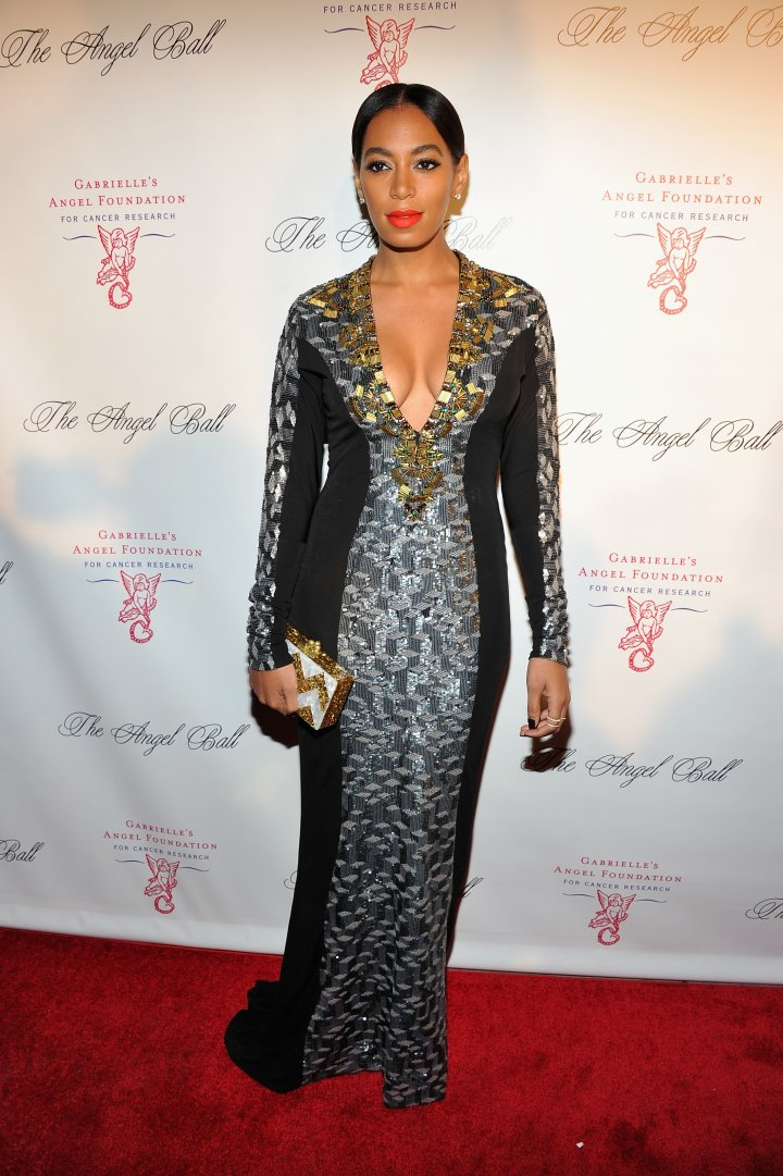 Solange Knowles attends the Angel Ball 2012 at Cipriani Wall Street