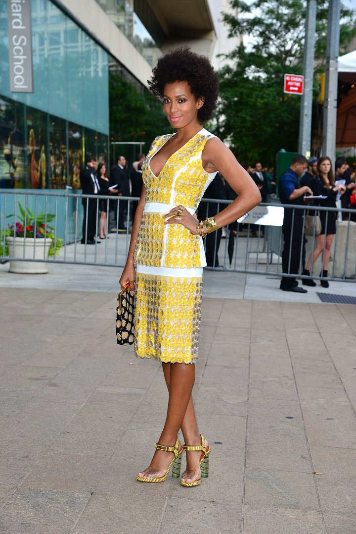 Solange Knowles attend 2012 CFDA Fashion Awards at Alice Tully Hall
