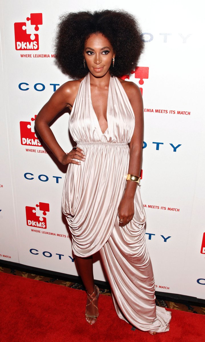 Solange Knowles attends the 5th annual DKMS Gala