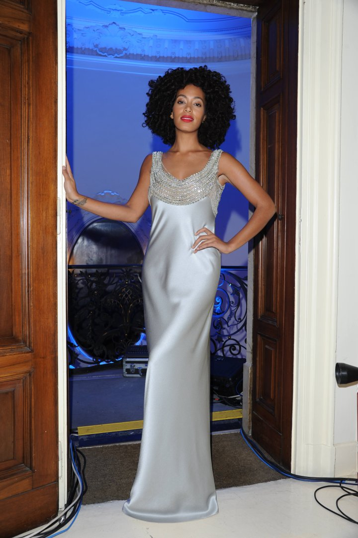 Solange Knowles attends the Alberta Ferretti Special Event