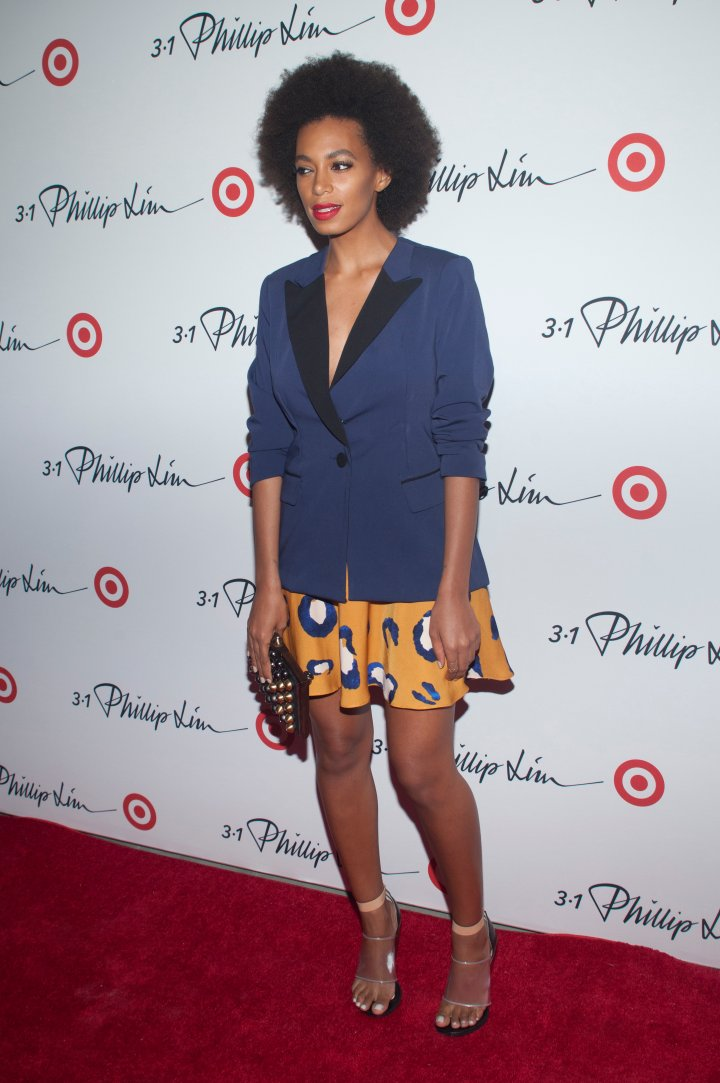 Solange attends the 3.1 Phillip Lim for Target Launch Event