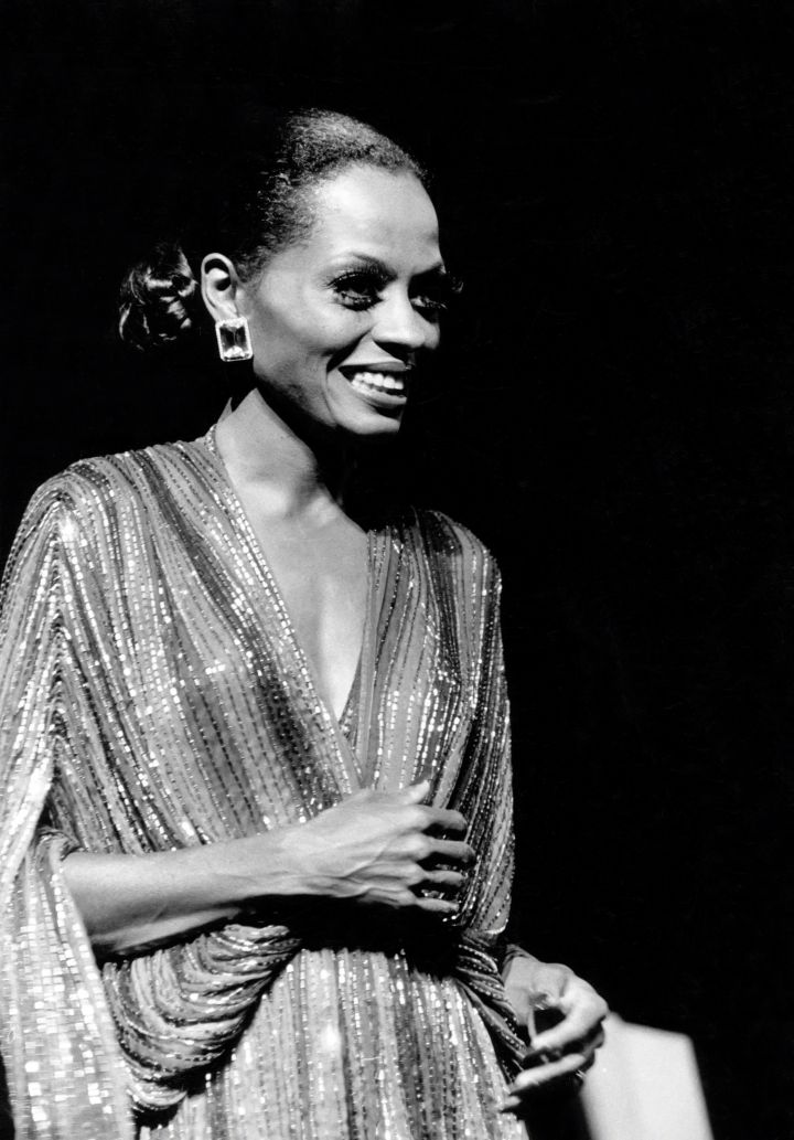 Diana Ross in Concert circa 1976 in New York City