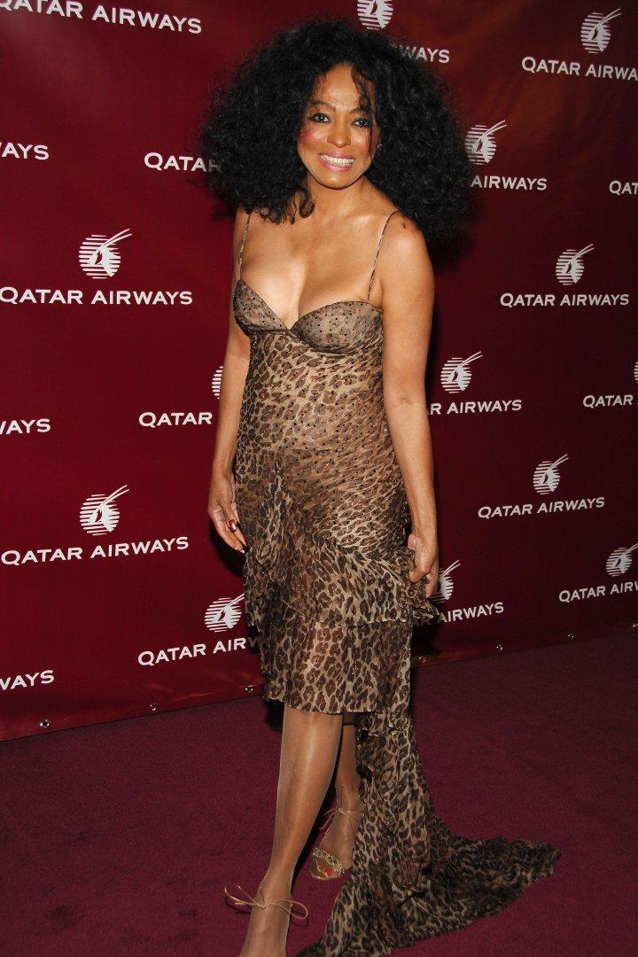 Diana Ross attends QATAR AIRWAYS Gala Event