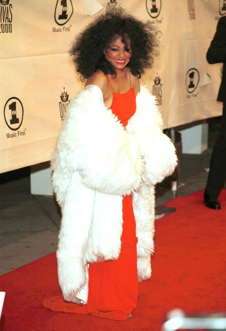 DIANA ROSS AT VH1 THE DIVAS IN HOMAGE TO DIANA ROSS EVENT, 2000