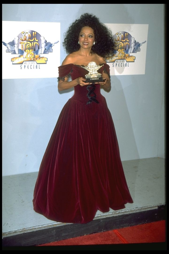 DIANA ROSS AT SOUL TRAIN 25TH ANNIVERSARY HALL OF FAME SPECIAL, 1995