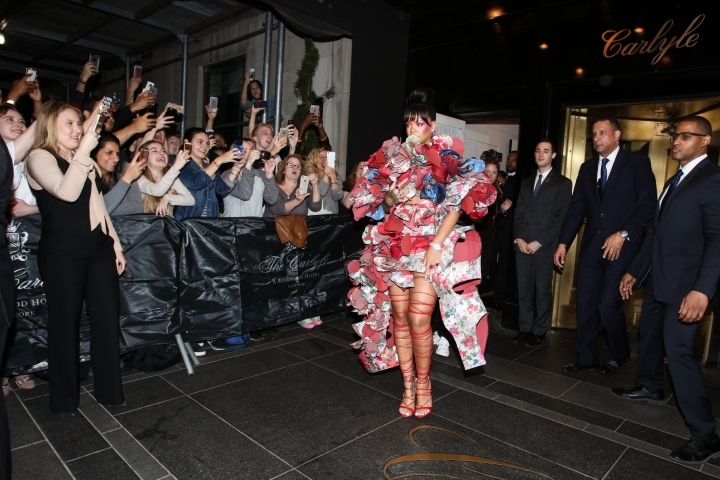 'Rei Kawakubo/Comme des Garcons: Art Of The In-Between' Costume Institute Gala - Sightings