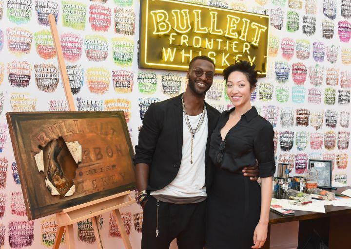 Aldis Hodge Launches Bulleit Frontier Works: Bottle Impressions Nationally At Frieze New York