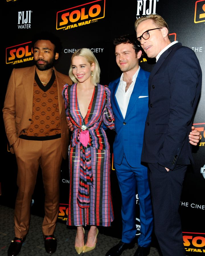 The Cinema Society With Nissan & FIJI Water Host A Screening Of 'Solo: A Star Wars Story'