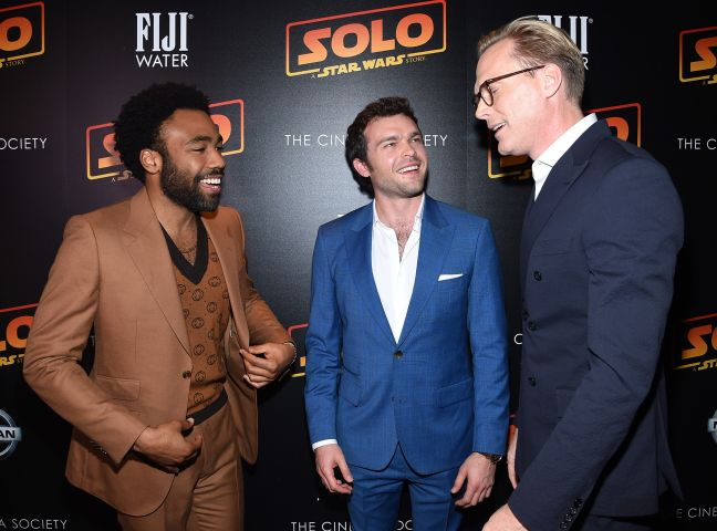 The Cinema Society With Nissan & FIJI Water Host A Screening Of 'Solo: A Star Wars Story' - Arrivals