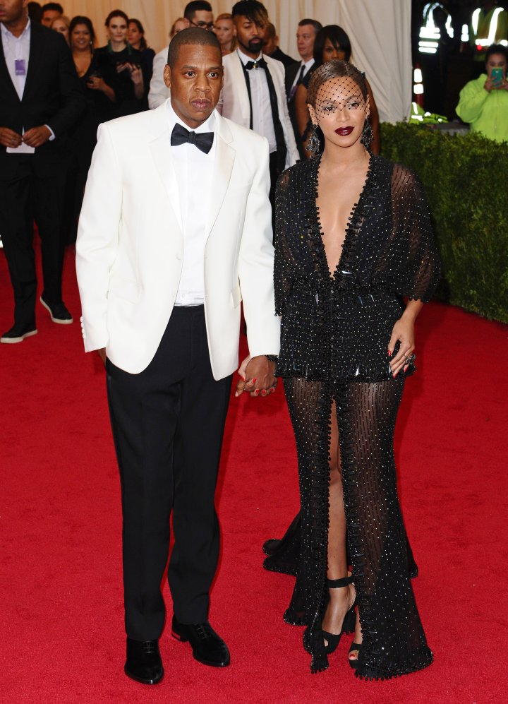 Jay Z and Beyonce in Givenchy