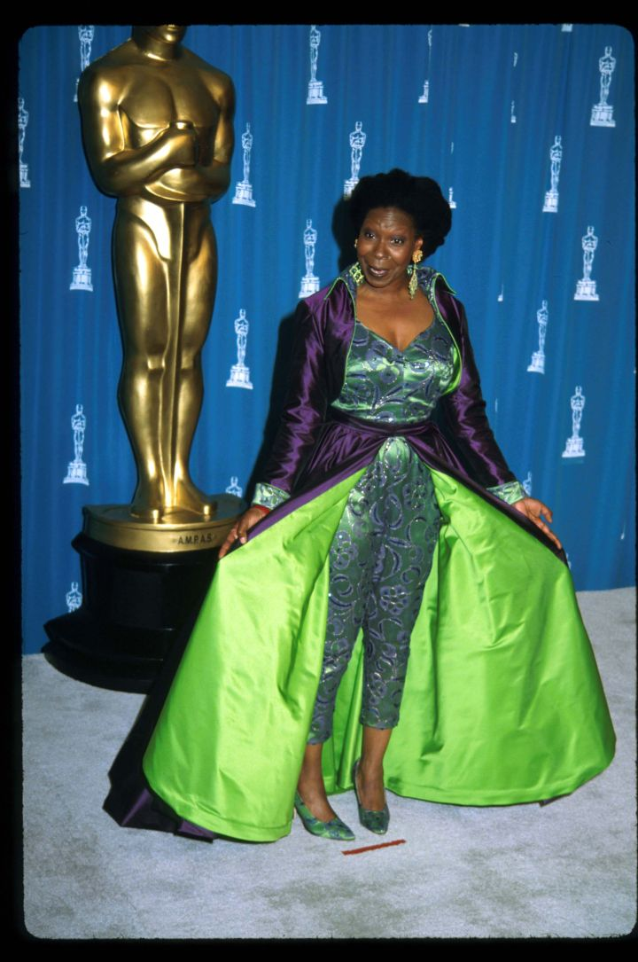 Whoopi Goldberg at The Oscars in 1993