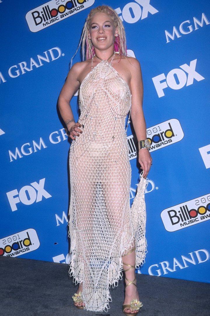PINK at the 2001 Billboard Awards