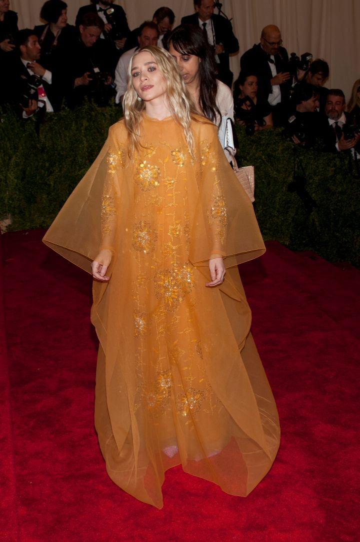 """Ashley Olsen at the 2013 """"PUNK: Chaos To Couture"""" Costume Institute Gala"""