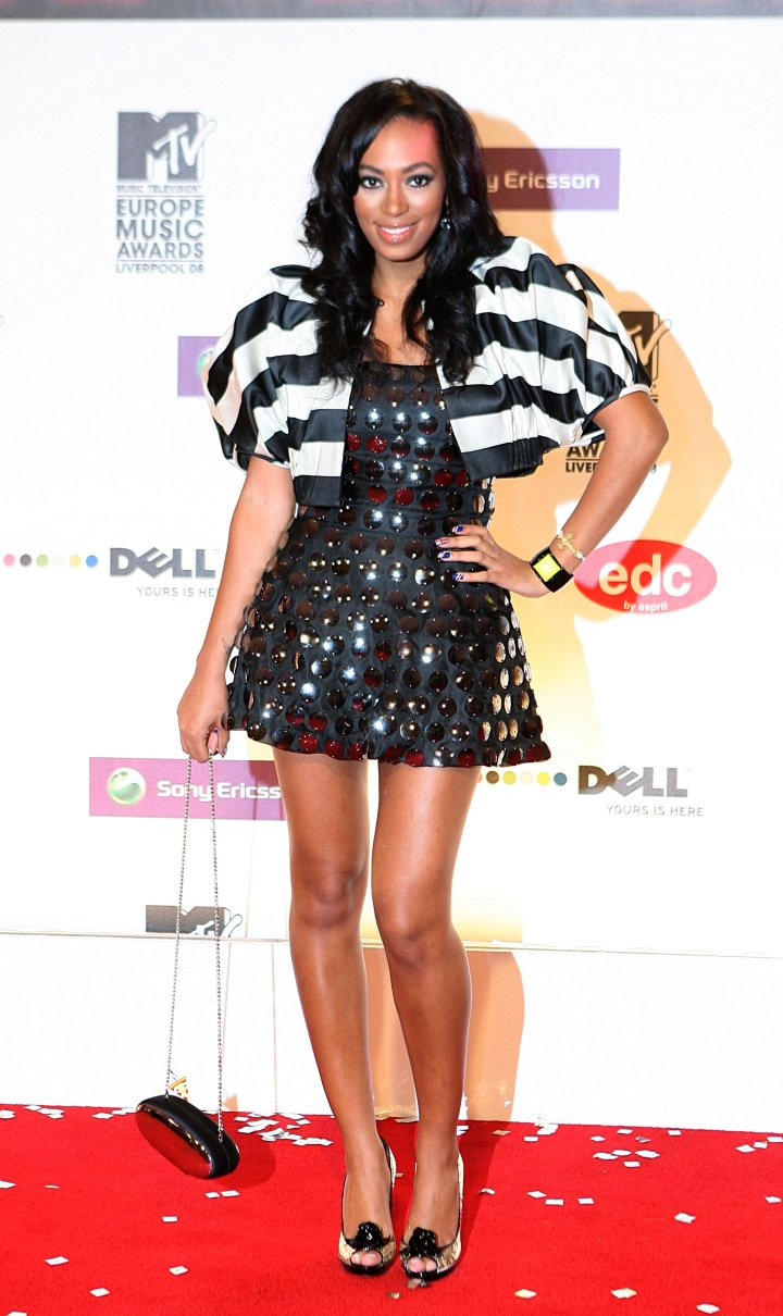 Solange at The 2008 MTV Europe Music Video Awards