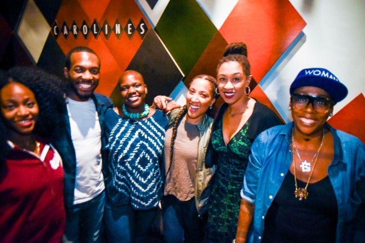 Marie Faustin, David Lester, Agunda Okeyo, Robin Thede, Leighann Lord & Gina Yashere