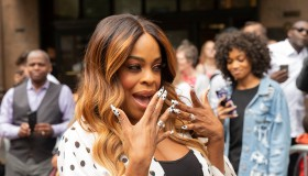 Niecy Nash attends TNT CLAWS Presents the #ClawsUp Tour New...