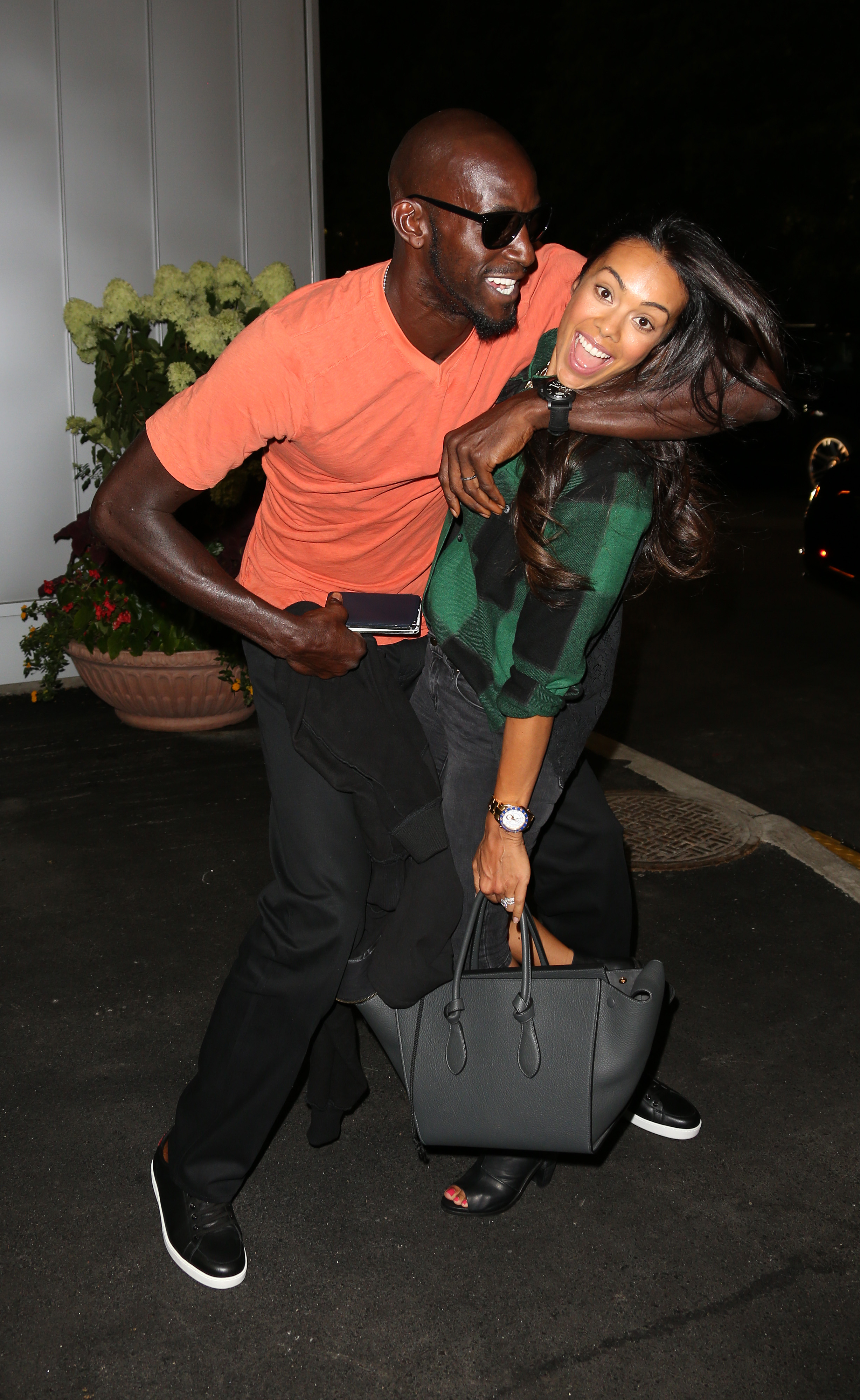 NBA Player Kevin Garnett's Wife Confronts His Jumpoff