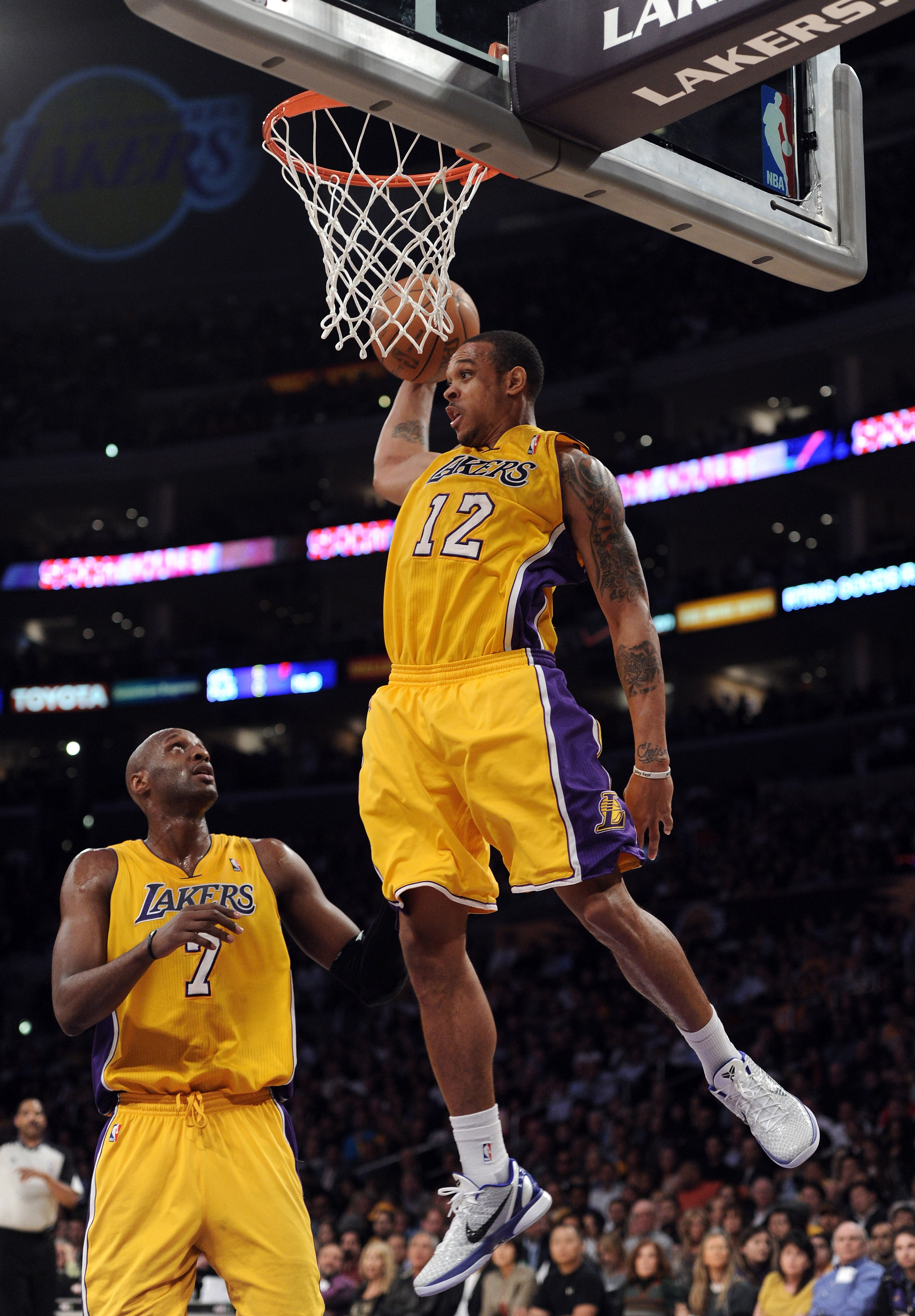 LA Lakers Lamar Odom & Shannon Brown Show Us Their Goods