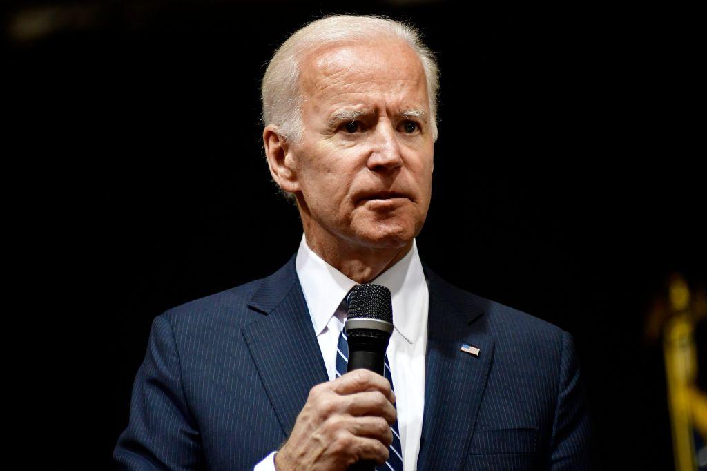 Joe Biden Speaks at Saint Joseph's University, in Philadelphia, PA