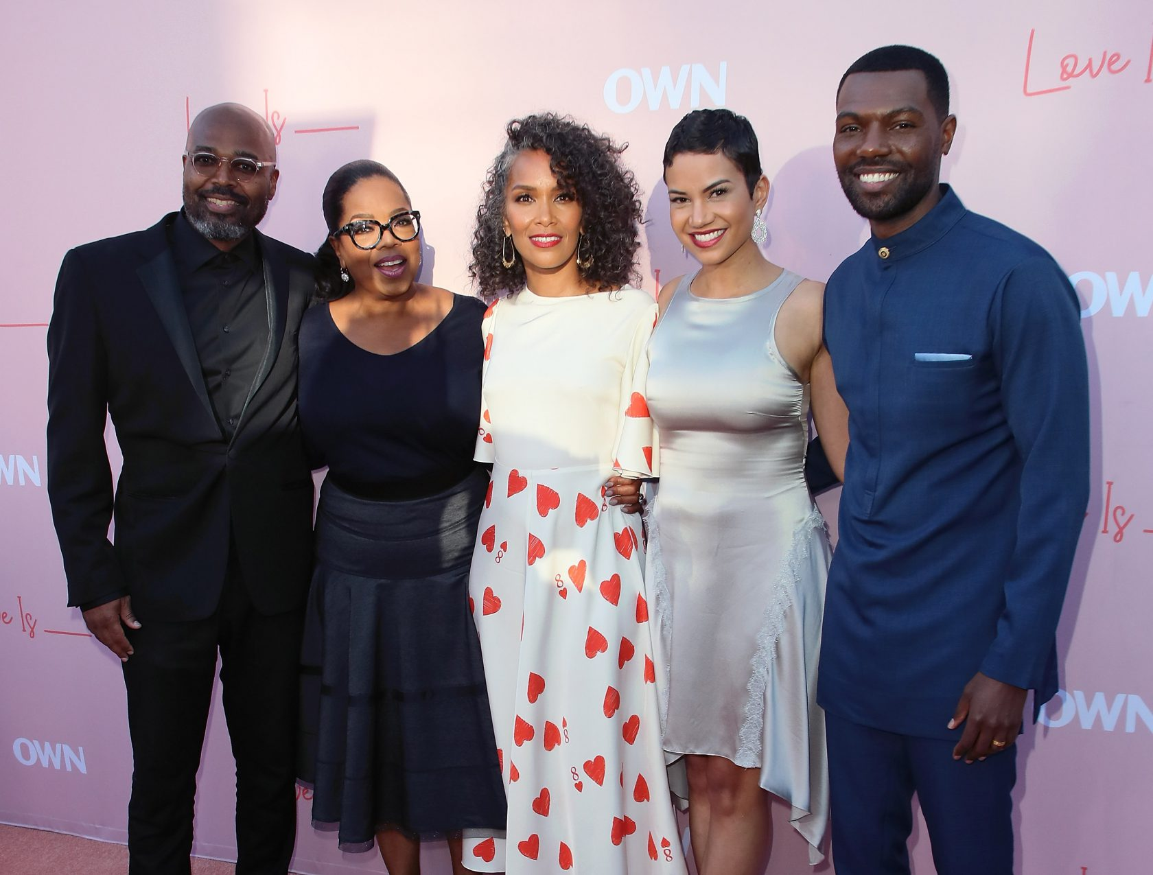 Premiere Of OWN's 'Love Is_' - Arrivals